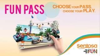 Family sentosa fun pass 1 day up to 5 attractions
