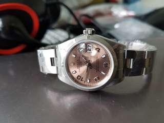 Ladies Rolex 79190 pink champagne dial