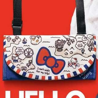 Hello Kitty 多用途小袋 / 旅行銀包 (可斜孭側孭)