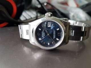 Ladies Rolex 79160 blue dial