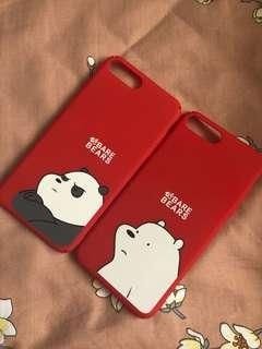 BRAND NEW WE BARE BEAR iPhone 7/8Plus Covers