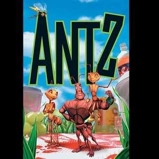 [Rent-A-Movie] ANTZ (1998) [MCC004]