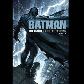 [Rent-A-Movie] BATMAN THE DARK KNIGHT RETURNS PART-1 (2012) [MCC004]