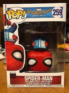 Homecoming Spiderman upside down funko pop