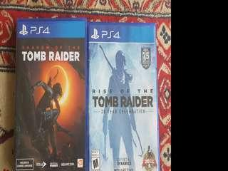 Shadow of the Tomb Raider + Rise of the Tomb Raider