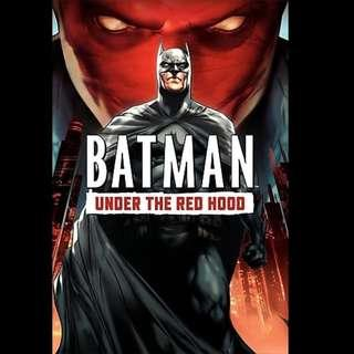 [Rent-A-Movie] BATMAN UNDER THE RED HOOD (2010) [MCC004]