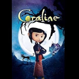 [Rent-A-Movie] CORALINE (2009) [MCC004]