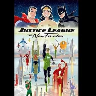 [Rent-A-Movie] JUSTICE LEAGUE THE NEW FRONTIER (2008) [MCC004]