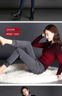 Winter fleece jeans x2