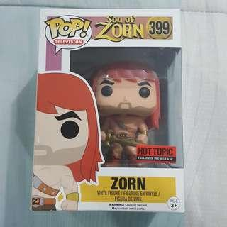 Legit Brand New With Box Funko Pop Television Son Of Zorn Zorn Toy Figure Hot Topic Exclusive