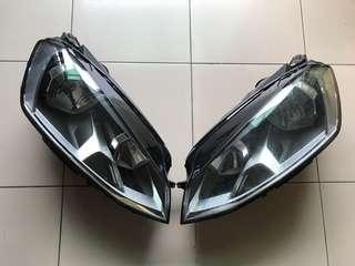 GOLF 7代 原廠大燈/後照鏡/方向盤/儀表板/R水箱罩/鋁圈