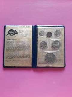 1984 Rat Uncirculated coins set