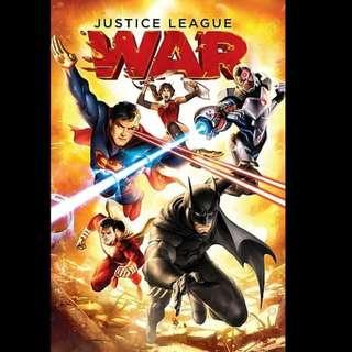 [Rent-A-Movie] JUSTICE LEAGUE WAR (2014) [MCC004]