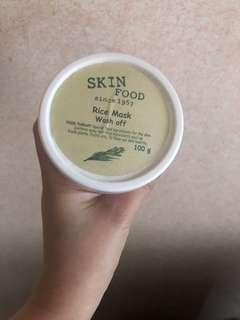 Authentic Skin Food Rice face Mask