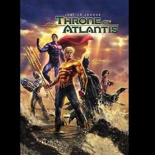 [Rent-A-Movie] JUSTICE LEAGUE THRONE OF ATLANTIS (2015) [MCC004]