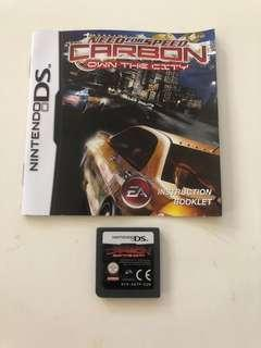 Nintendo DS Need For Speed Carbon - Own The City Game