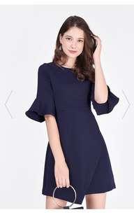 Erisa Flare Sleeve dress