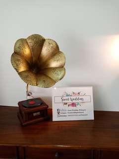 Gramophone decor
