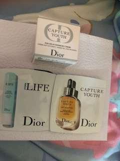 Dior Capture youth cream eye gel youth Serum age delay $40