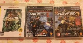 PS3 Uncharted 123