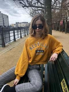 Mustard Pullover Jumper