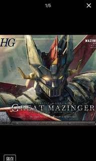 Bandai HG 1/144 鐵甲萬能俠 Great Mazinger Z Infinity 2號 模型