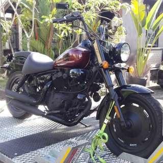 Keeway Dorado 250 Virago easy rider chopper bobber classic retro vintage cafe racer custom