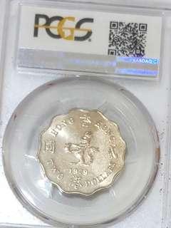 1979年兩圓女皇頭硬幣