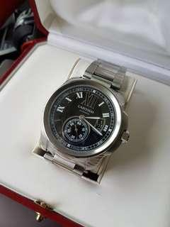 Cartier de calibre black dial