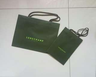Longchamp Paper Bag