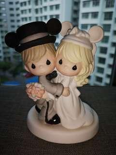 Precious moment wedding disney