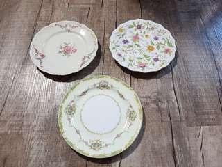 Various rose plates