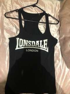Lonsdale active wear singlet