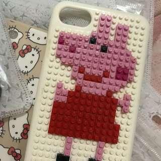 🚚 iphone7佩佩豬積木diy手機殼