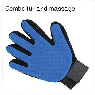 """Hi5"" Cat Massage Fur-Combing Glove"