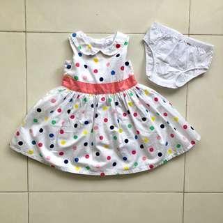 Carter's Dress bayi (set)