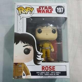 Legit Brand New With Box Funko Pop Star Wars Rose Toy Figure