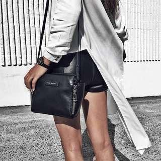 Status Anxiety Black Leather Bag