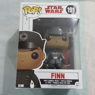 Legit Brand New With Box Funko Pop Star Wars Finn Imperial Officer Toy Figure