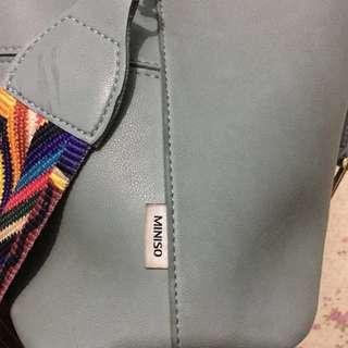 Tas miniso prelove murah sling bag Original