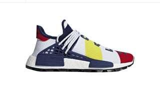 Adidas Pharrell X BBC HU NMD Multicolor US 8.5