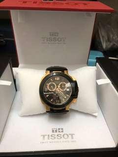 🚚 天梭TISSOT t-race錶(8成新)