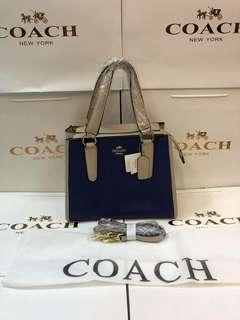 Coach handbag w/ sling and serial#