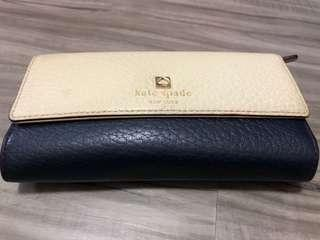 🚚 Kate spade Long wallet(with coin compartment)-authentic
