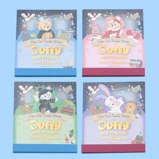 Tokyo Disneysea Disneyland Disney Resorts Sea Land Cape Cod Twinkle Winter 2018 Duffy & Friend Memo Set Preorder