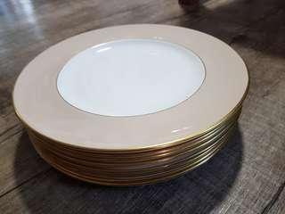 Royal Doulton bone china plates