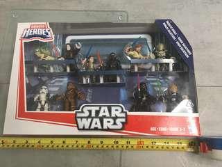Hasbro Star Wars Galactic Heroes Galactic Rivals 10pc Action Figure Set Hasbro
