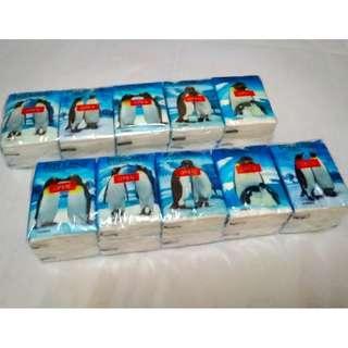 Premier Tissue Hanky Pack 10 pkts x 10 sheets