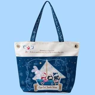 Tokyo Disneysea Disneyland Disney Resorts Sea Land Cape Cod Twinkle Winter 2018 Duffy & Friends Tote Bag Preorder