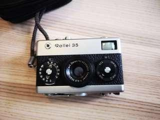 Original Rollei 35 (first batch made in Germany)